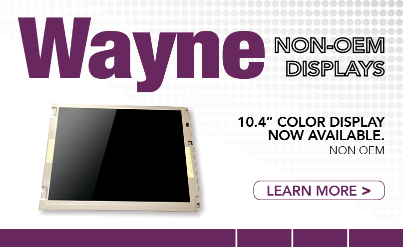 Wayne 10.4 Display Web Promo